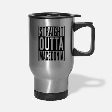 Home Town Land Country State Macedonia - Travel Mug