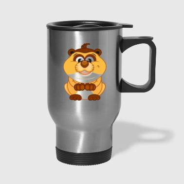 Hamster-animal-rodent-wildlife - Travel Mug