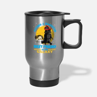 Father And Daughter Father and Daughter in the Galaxy - Travel Mug