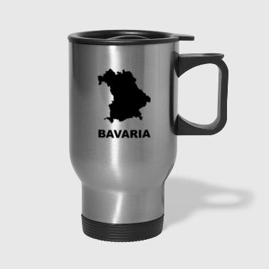 Bavaria map - Travel Mug