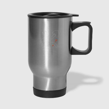 Arrow to the Knee - Travel Mug