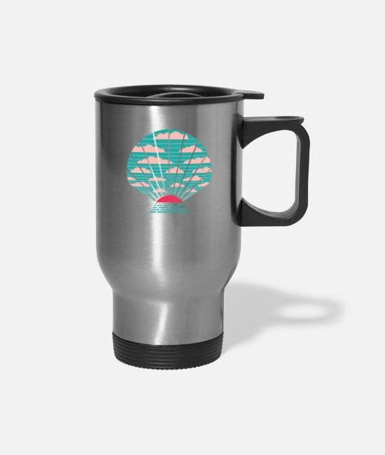 Treasure Mugs & Cups - The Birth of Day - Travel Mug silver