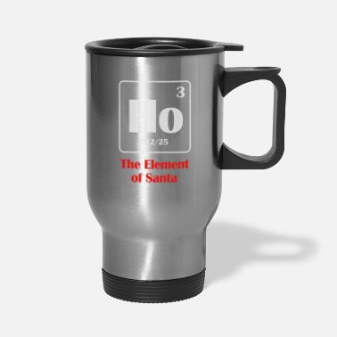 the element of santa - Travel Mug