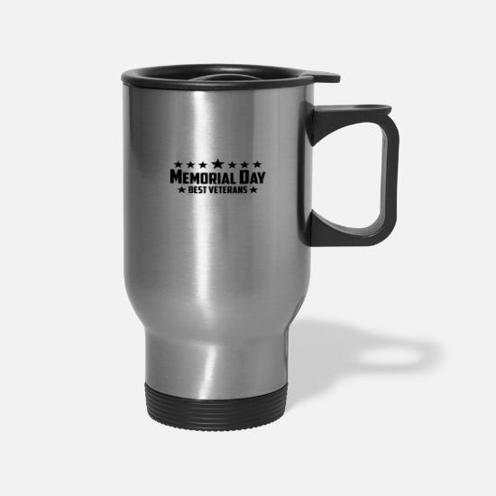 Vietnam Mugs & Drinkware - Memorial day - Travel Mug silver