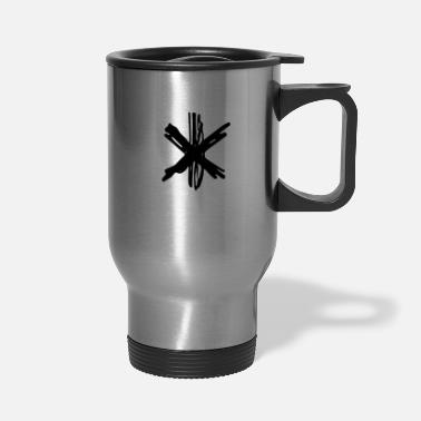 Asterisk asterisk - Travel Mug