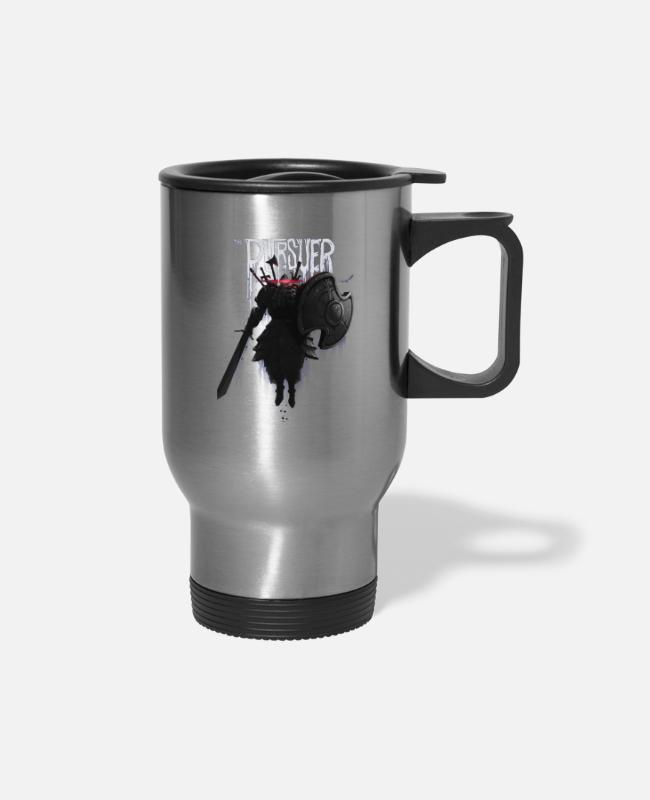 Play Mugs & Cups - The Pursuer - Travel Mug silver