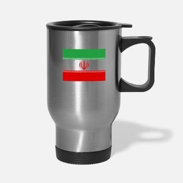 Iran Flag Flag of Iran (ir) - Travel Mug