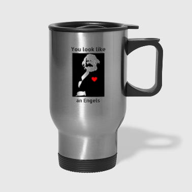 Marx_love_Shirt - Travel Mug
