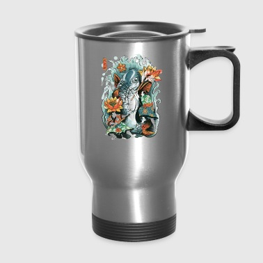 Make Art Not War - Travel Mug