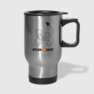 Bitcoin Chart - Travel Mug