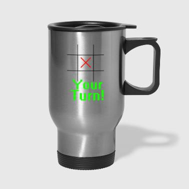 Tic Tac Toe - Travel Mug