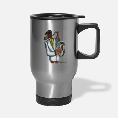 Ja Saxo ja ja - Travel Mug