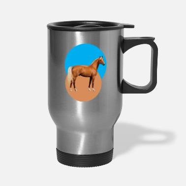 Hor beautiful design hors - Travel Mug