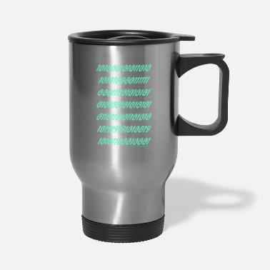 "Ramseys Retro Apparel ""Ramseys Matrix"" - Travel Mug"