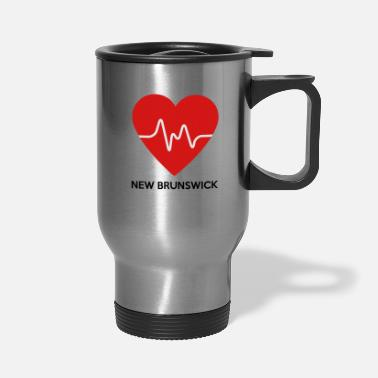 New Brunswick Heart New Brunswick - Travel Mug