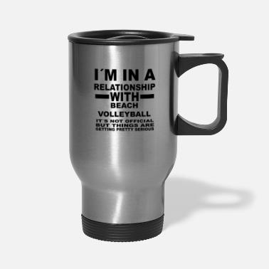 Beach Volleyball relationship with BEACH VOLLEYBALL - Travel Mug