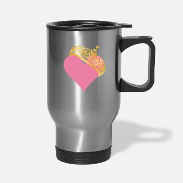 Cuore mary kay pink heart - Travel Mug