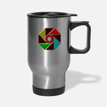 Shutter wheel art shutter - Travel Mug