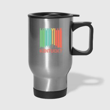 Retro Louisville Skyline - Travel Mug