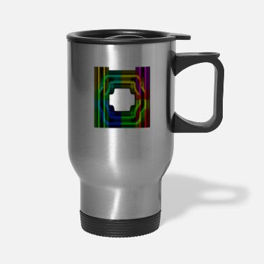 Electrical Line Electric Lines - Travel Mug