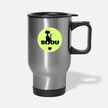 Birth Name Bijou first name cats name - Travel Mug