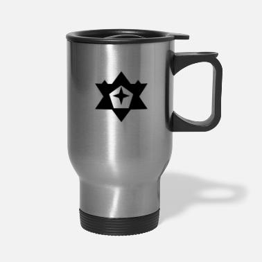 Asterisk Black Star - Travel Mug
