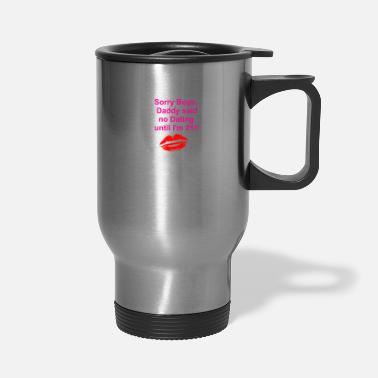 Date no Dating - Travel Mug