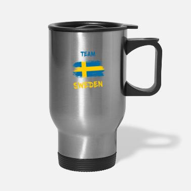Scandinavia Team Sweden / Stockholm Gift Scandinavia - Travel Mug