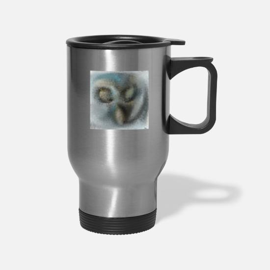 Art Mugs & Drinkware - Bui Bui - Travel Mug silver