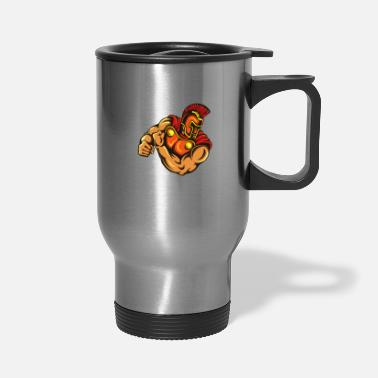 Mascot Gladiator Mascot - Travel Mug