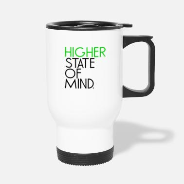 Higher State Of higher state of mind - Black - Travel Mug