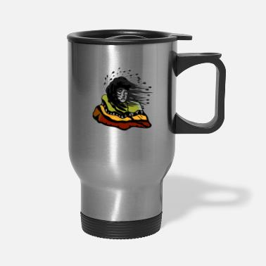 Plain plains indian - Travel Mug