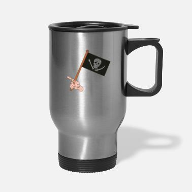 Pirate Flag Pirate Flag - Travel Mug