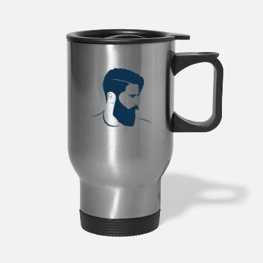 Hairstyle hairstyle - Travel Mug