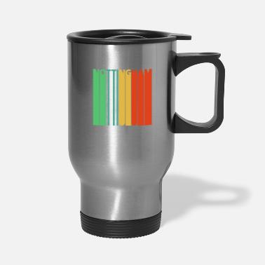 Nottinghamshire Vintage Retro Nottingham Gifts. - Travel Mug