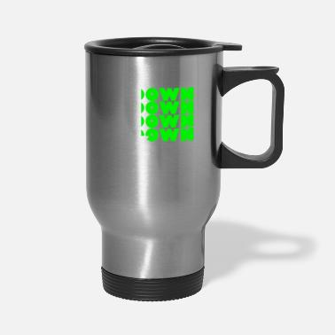 Down Down Down Down Down Design - Travel Mug