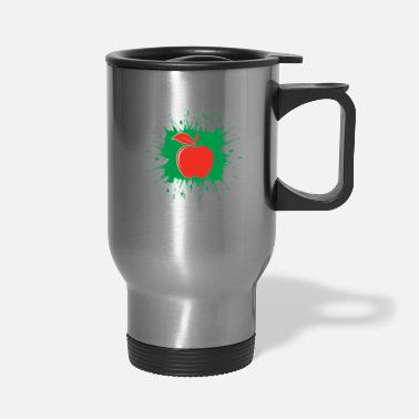 Painting Red apple - Travel Mug