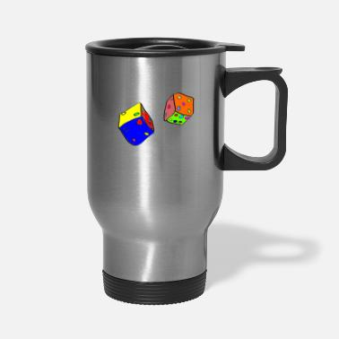 Dice dices - Travel Mug