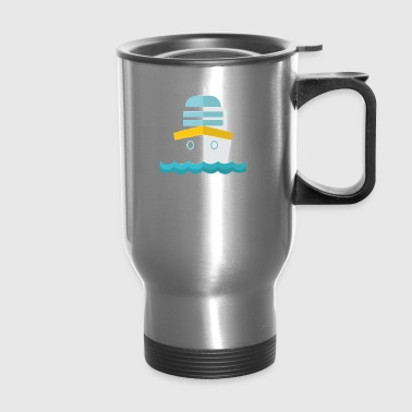 Cruise Ship funny tshirt - Travel Mug