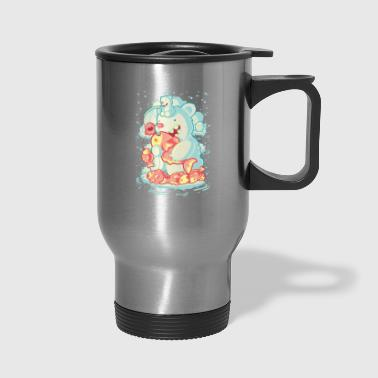 Polar polar bear - Travel Mug