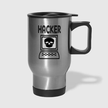 hacker - Travel Mug