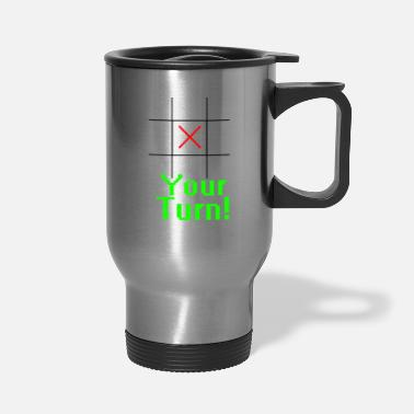 Toe Tic Tac Toe - Travel Mug