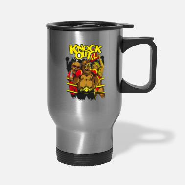 Knock Out knock Out gorilla - Travel Mug