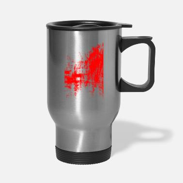 Surrealism Surreal Art Red - Travel Mug