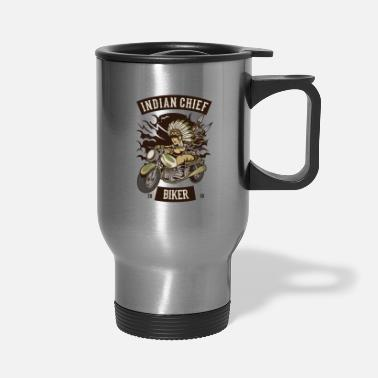 bike motorcycle biker - Travel Mug