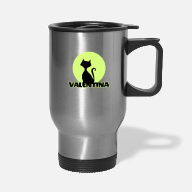 First Name Valentina first name - Travel Mug