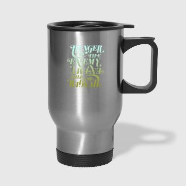 Hunger is the enemy - Travel Mug