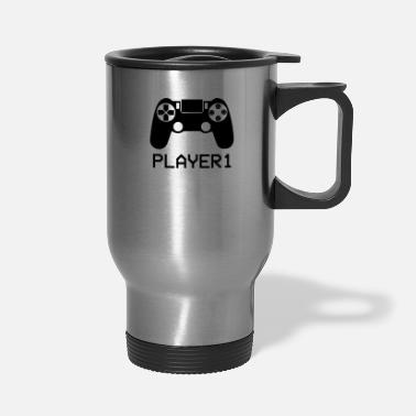 Stick Player Stick - Travel Mug