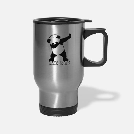 Life Force Mugs & Drinkware - dab life - Travel Mug silver