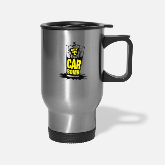Game Mugs & Drinkware - Buy Me A Car Bomb - Travel Mug silver
